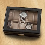 Personalized Family Circle Monogrammed Watch Box