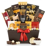 Many Thanks Gift Basket-Express your true gratitude with sweet and savory treats!