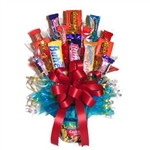 Send this wonderful candy bouquet instead of flowers for a sweet and salty treat for the Peanuts lover on your list.