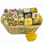 Spring Sweets Gourmet Gift Basket - Chocolate covered confections in honor spring