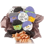 Crazy for you! Cookie Bouquet - Choose our 5, 7, 9 or 12 piece arrangement of Hear Cookies.