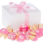 Lady Fortunes Pink Ribbon Fortune Cookies - One Dozen