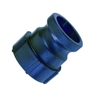 "(A) 3/4"" Male Adapter/Female GHT Poly - P/N 075A-MGHT"