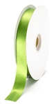 small moss green satin ribbon
