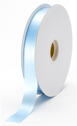 small light blue satin ribbon