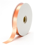 small peach satin ribbon