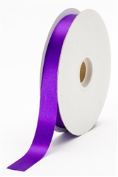 small purple satin ribbon