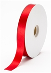 small red satin ribbon