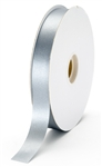 small silver satin ribbon