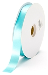 small aqua satin ribbon