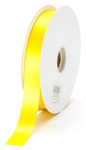 small yellow satin ribbon