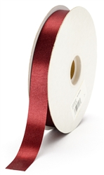 small brown satin ribbon