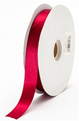 small madame red satin ribbon