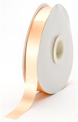 small light peach satin ribbon