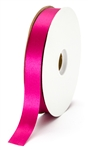 small wine satin ribbon