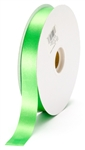 small emerald satin ribbon