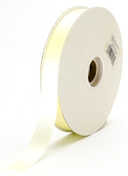 small eggshell satin ribbon