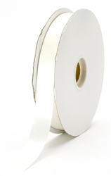 small ivory satin ribbon
