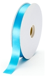 small turquoise satin ribbon