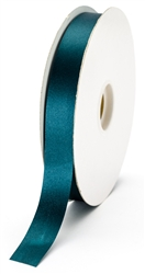 small teal satin ribbon
