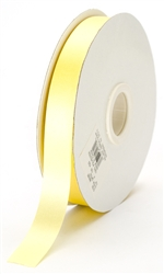 small maize satin ribbon