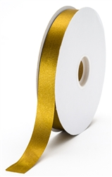 small antique gold satin ribbon