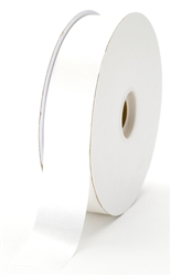 large white satin ribbon