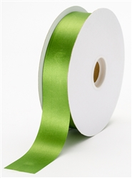 large moss green satin ribbon