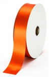 large rust satin ribbon