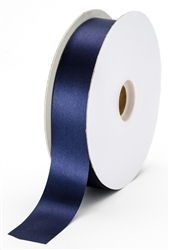 large navy satin ribbon