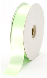 large mint satin ribbon