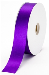 large purple satin ribbon