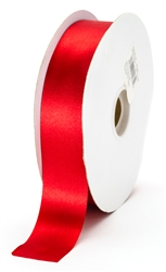 large red satin ribbon
