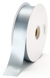large silver satin ribbon