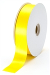 large yellow satin ribbon