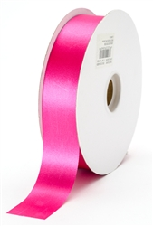 large cyclamen satin ribbon