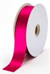 large wine satin ribbon