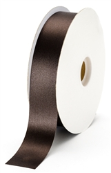 large chocolate satin ribbon