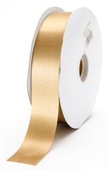 large champagne satin ribbon