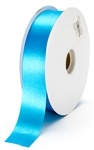 large turquoise satin ribbon