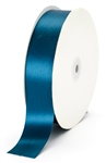 large teal satin ribbon