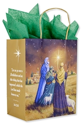 Shepherds Christmas Gift Bag