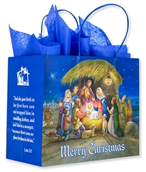 Nativity Christmas Gift Bag