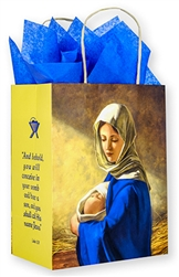 Madonna Child Christmas Gift Bag