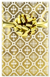 Elegant Gold Cross Christian Gift Wrap