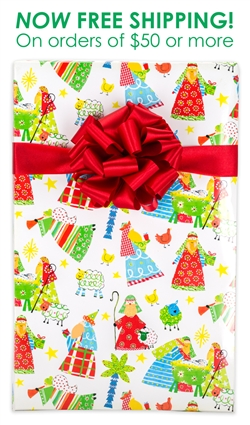 Children S Christmas Wrapping Paper
