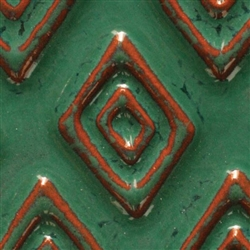 AA-40 Seafoam Green Amaco Artist Choice Low-Fire Glaze
