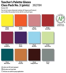 Amaco Teachers Pallete Class Pack 3