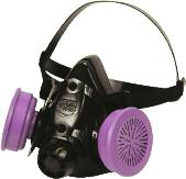 North Dual Cartridge Respirator Half Mask 7700