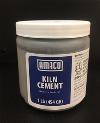 Amaco Kiln Cement 1 Pound Wet